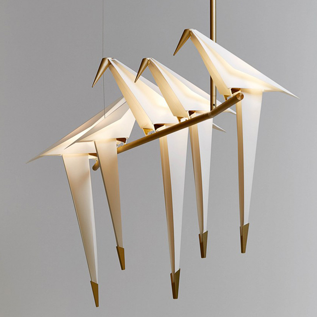 Moooi PERCH Bird Chandelier Pendant
