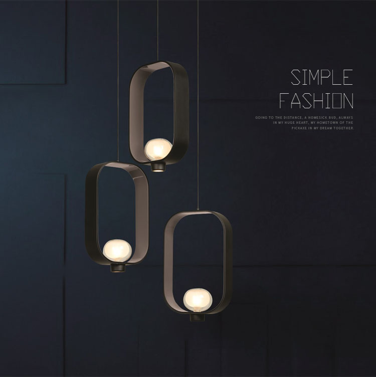 Loop Shape Pendant Light