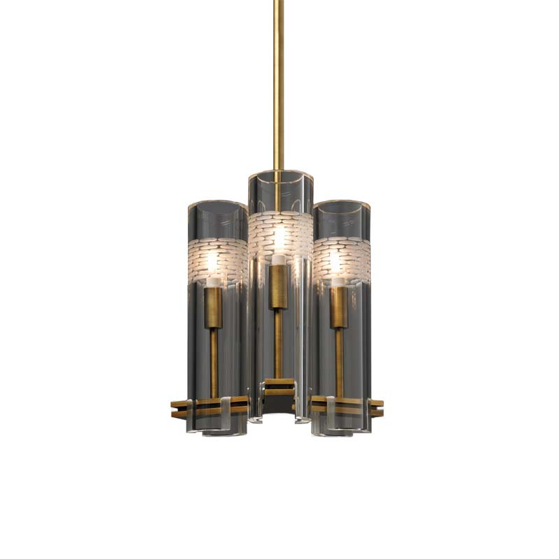 CHAMONT 3-LIGHT PENDANT