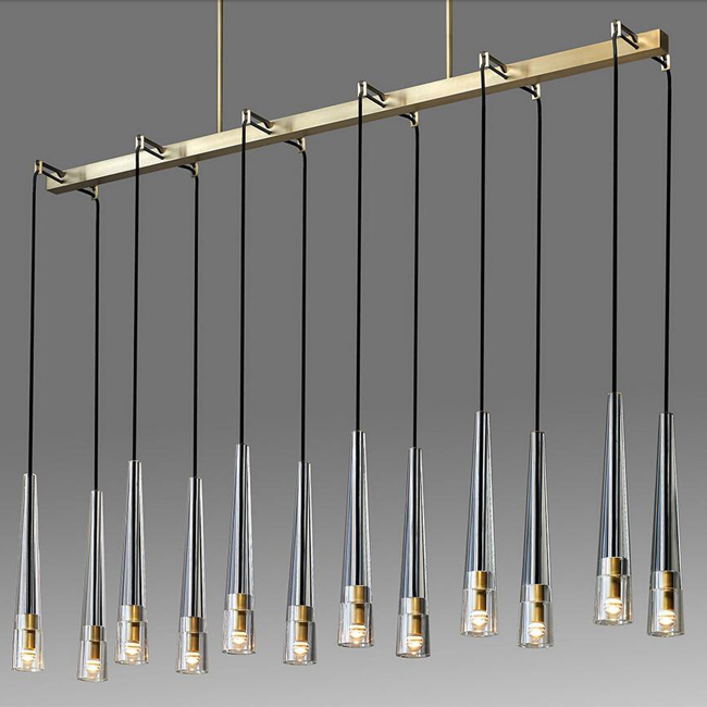 REPLICA APOLLINAIRE LINEAR CHANDELIER