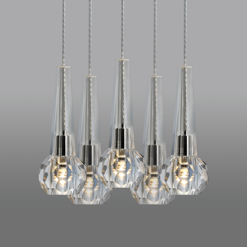 FALAISE FIVE LIGHT CHANDELIER