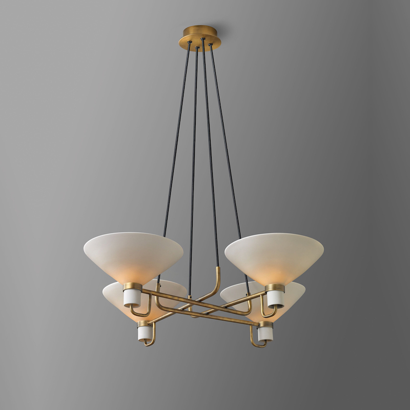 LAURISTON 4-LIGHT PENDANT