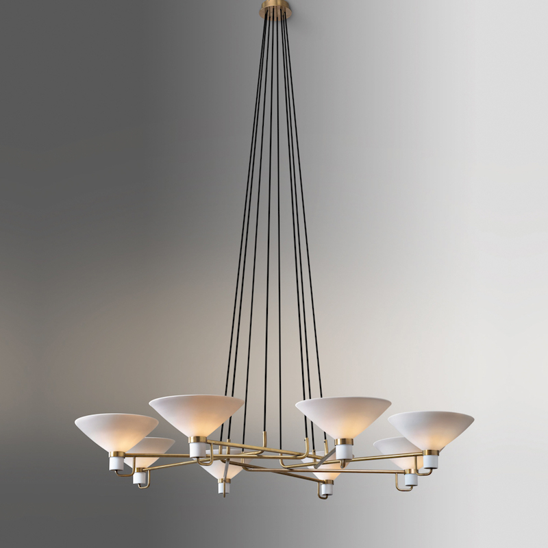 LAURISTON CIRCULAR CHANDELIER