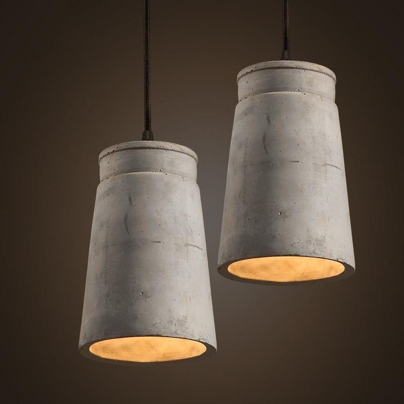Concrete Odense Pendant Light