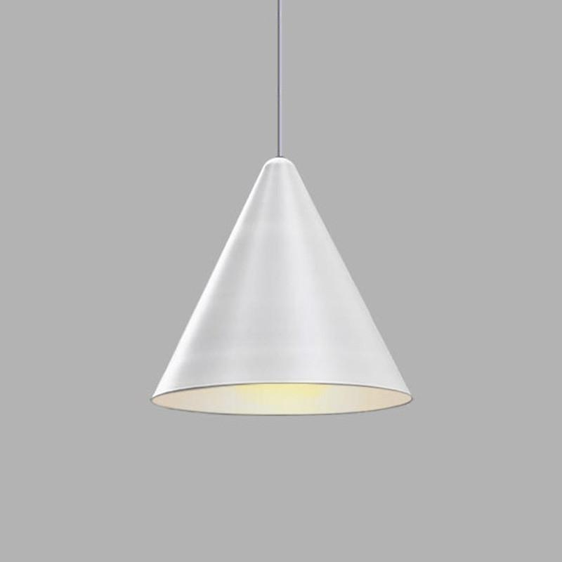 Cone minimalist pendant light