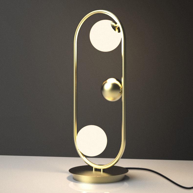 Chic 2 Light Ruff Retangle High Table Lamp Floor Lamp