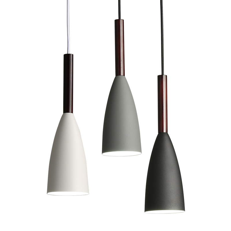 Mayes Minimalist Dome Shade Pendant Light