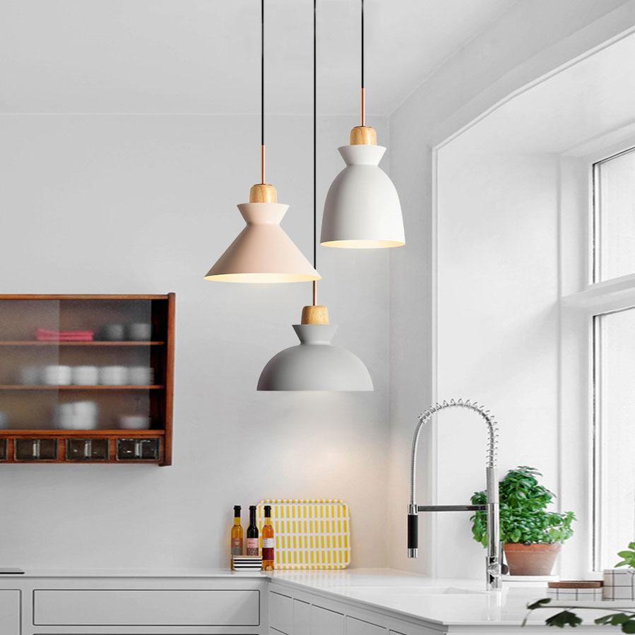Scandinavian Style 1 Light Hanging Pendant
