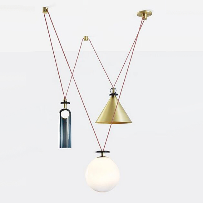 Roll and Holl Pendant Lighting