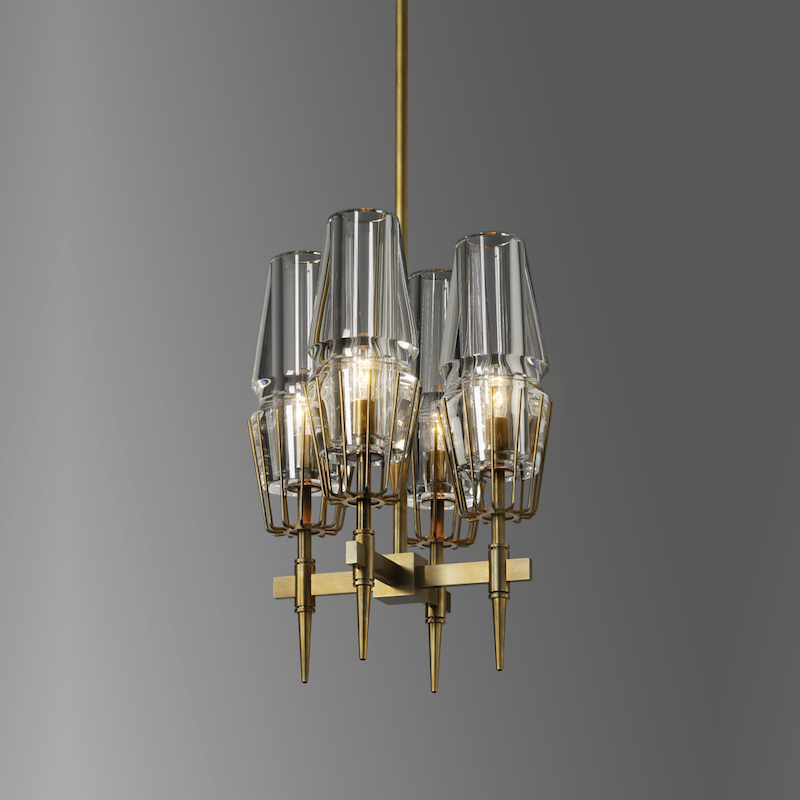 CHAILLOT 4-LIGHT PENDANT