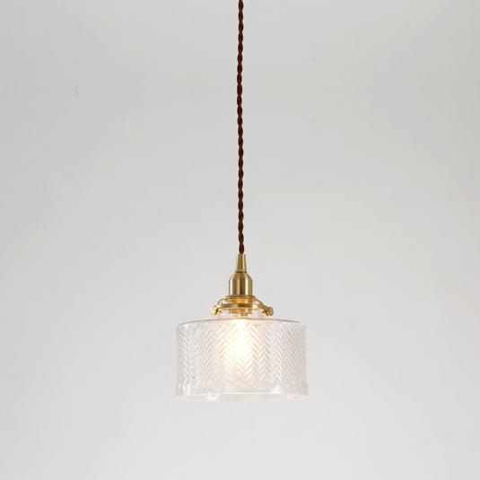 Matilda Glass Mid Century Pendant Light