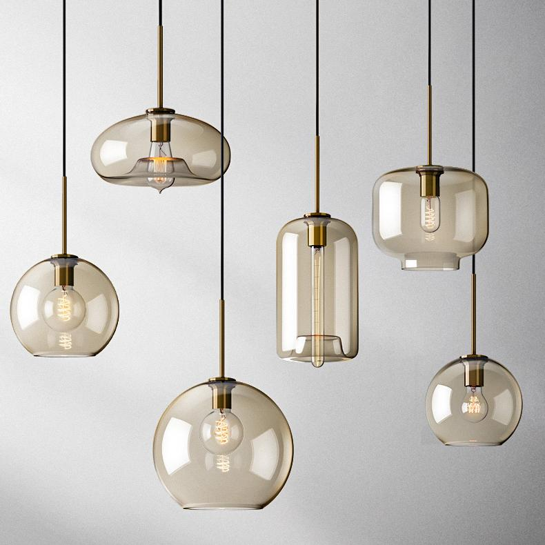 Millow Glass Pendant Light